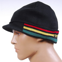 Jamaica hats fashion 2 fashion belt male winter stripe knitted hat knitted skiing hat  2013