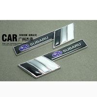 2014 sale hot sale 3d carbon fiber vinyl door forester subaru xv refit label fender for car body stickers