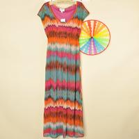 2013 women's short-sleeve v-neck dress full dress plus size 2p35q