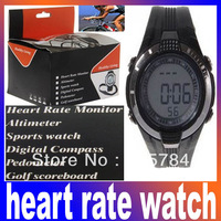 Multi-function Stylish Heart Rate Monitors and Calorie Reader Sport Watch for Healthy Living Free Shipping