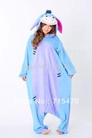2014 New Anime Pajamas Animals Eeyore Donkey Clothing Pajamas Sleepsuit Lovely Unisex