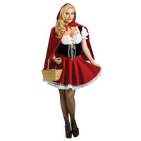 Little Red Riding Hood cosplay clothing ,  fairy tales Role-playing clothing , 2 Size M XL