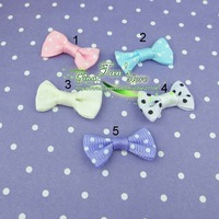 wholesale Wholesale satin bows.Girls' hair accessories and DIY Craft  200 pcs/lot (23 colorway choice)