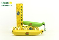 Free shipping New arrival Simulation modelling of banana Triple folding umbrella, with retail box