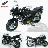 Free Shipping! Brand New 1:12 Scale Honda CB1300SB(SUPER BOLDOR) Black Diecast Racing Motorcycle Model