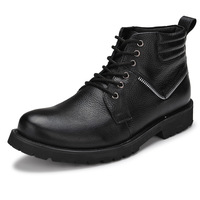 Free Shipping+Hot Selling Brand Men Work Boots 100%Geniune Leather Boots Outdoor Military Boots Waterproof/Wearproof Ankle Boots