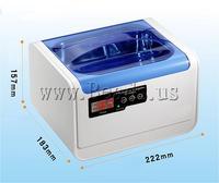 Free shipping!!!Plastic Digital Ultrasonic Cleaner,Cute, 222x183x157mm, 175x145x70mm, Sold By PC