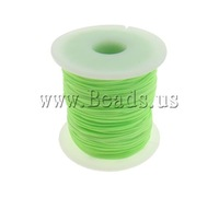Free shipping!!!Nylon Cord,quality, fluorescent green, 1mm, Length:Approx 100 Yard, Sold By PC