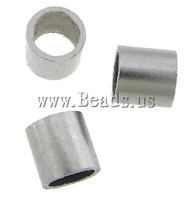 Free shipping!!!Stainless Steel Jewelry Beads,sexy,chinese jewelry, 316 Stainless Steel, Tube, 2x2mm, Hole:Approx 1.5mm