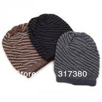 Wholesale 10pcs Mix Colors Fashion Men Beanies Hats Women Crochet Winter Skullies Beanie Mens Spring Thick Cap Womens Autumn Hat