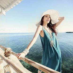 Fashion beach ocean full dress sophie bohemia dress beach dress