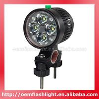 FEILONG 4 x Cree XM-L U2 LED 3-Mode 4000 Lumens Bike Light with 6 x 18650 Battery Set and Charger