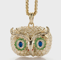 Monet kjl owl necklace long necklace female design fashion accessories a89