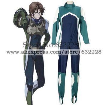 Mobile Suit Gundam 00 Lockon Stratos Pilot Suit Cosplay Costume