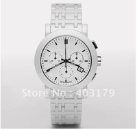 FREE SHIPPING new Heritage Unisex quartz watches BU1770 WHITE CERAMICA CHRONOGRAPH WATCH Wristwatch