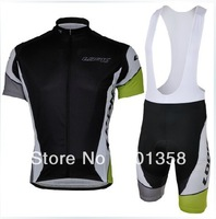 LOOK cycling team short sleeve ciclismo jersey 2013 and bib shorts cycling mtb 3D coolmax padded accept customized model