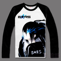 New Arrival Spring and Autumn Men's Clothing,Anime Clothes Markkaa T-shirt 100% Cotton Long-sleeve T-shirt