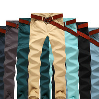 pants men skinny High quality Fashion korean straight trousers Man designer brand new 2013 Outdoor classic Hot selling