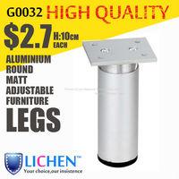 38 Diameter legs Round Aluminium alloy adjustable Furniture Legs&Special for USA(500 pieces/lot)