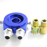 AN 10 OIL FILTER SENDER SANDWICH PLATE OIL COOLER ADAPTER KIT FEED LINE T3 T4 A 1/8NPT