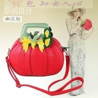 Pumpkin tyranids bags winter women's handbag bags vintage one shoulder female bag small messenger bag