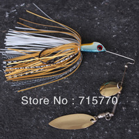 4X New Style Spinner Baits 14g BASS Fishing Lures Double Blades