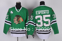 2013 hot sale men's ice hockey jersey Chicago Blackhawks #35 Tony Esposito hockey jersey on sale