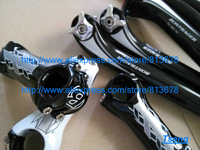 Free Shipping  BONTRAGER XXX full arbon fibre bicycle handlebar+seatpost+stem ,three pieces kit free shipping