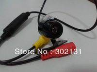 Hot selling car reverse parking camera with Night Vision wide view angle free shipping CCD camrea