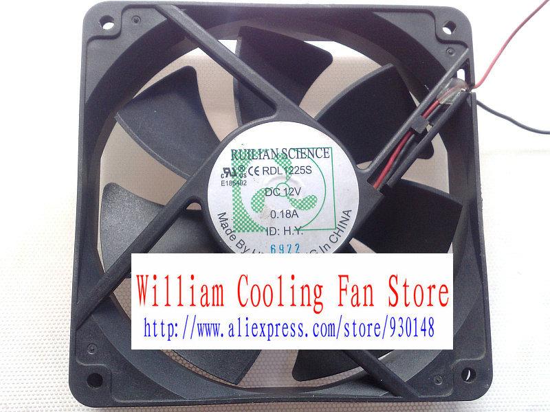 XINRUILIAN RUILIAN SCIENCE RDL1225S 12V 0.18A 12025 12CM fan(China (Mainland))