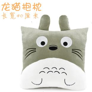 Totoro pillow back cushion plush toy birthday gift cushion doll birthday gift