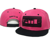 Cheap WATIB Snapback adjustable hats Wati B WA46 pink/ black Wholesale & dropshipping !