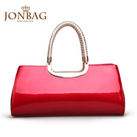 women handbags seconds kill rushed freeshipping bolsas femininas 2014 brand handbag trend of the bridal female bag red