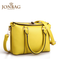 bag women genuine leather new arrival 2014 fashion yellow chokecherry innumeracy portable women's cross-body shoulder bag