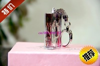 Studio crystal keychain / crystal customized photo production / creative gift / birthday gift free shipping