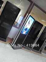 FREE SHIPPING!! 42 inch Dual-Screen Kiosk Indoor Display  Both-sided Kiosk Digital Message Signs  digital signage hersteller