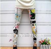 Free shipping missfeel fashion leggings pants&hot sale leggings for women&2013 hot sale women's legging trousers S M L XL XXL