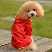 Dog raincoat wellsore satsuma large dog raincoat teddy waterproof poncho
