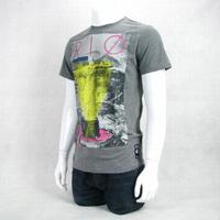 Brasil male summer large print o-neck 100% cotton short-sleeve T-shirt 2