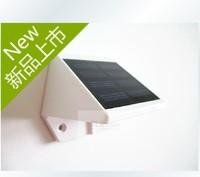 Free  Shipping Wall  Mount   /Fence/Garden Solar  LED  Lamp  Sensor Lamp  Wall  Solar  Lighting