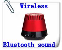Free Shipping Wireless Small Round Audio Bluetooth Sound Box Speaker