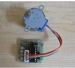 Free shippingraspberry pi kits 1LOT 5V 4-phase Stepper Motor+ Driver Board ULN2003 for_Arduino 2 x Stepper motor +2x ULN2003 Dri