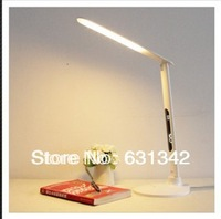 The New 2013 Modern Touch  Switch Portable Foldable LED Bedside Table Lamp Resin