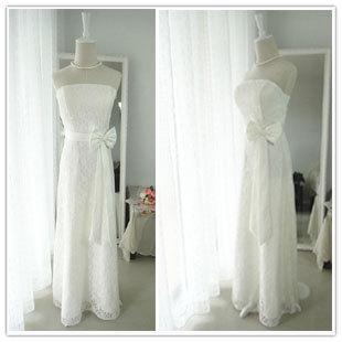 Bride dress long design wedding dress lace wedding dress bridal dress evening dress evening dress bridesmaid dress