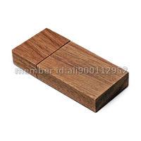 50pcs/lot OEM Walnut/Red Wood/Bamboo/Maple Wooden USB Flash Drive 2GB/4GB/8GB/16GB