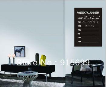 New Removable Chalkboard Blackboard Wall Sitcker Decal Week Planner Labels Tags [Top-Me]