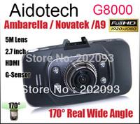 Original Blackview G8000 Full HD1920*1080P/30fps170 degrees wide Angle Car DVR 2.7inch LCD G-Sensor HK Free Shipping