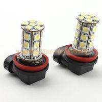 2PCS/Lot Fog Light H11 5050 24SMD LED Light Lamp Bulb for Car High Quality White Auto Fog Lamp Free Shipping