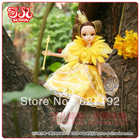 6071 12 Little Flower Fairy Kurhn Doll - December The Chrysanthemum Fairy Kurhn Doll for Girl Birthday Toy
