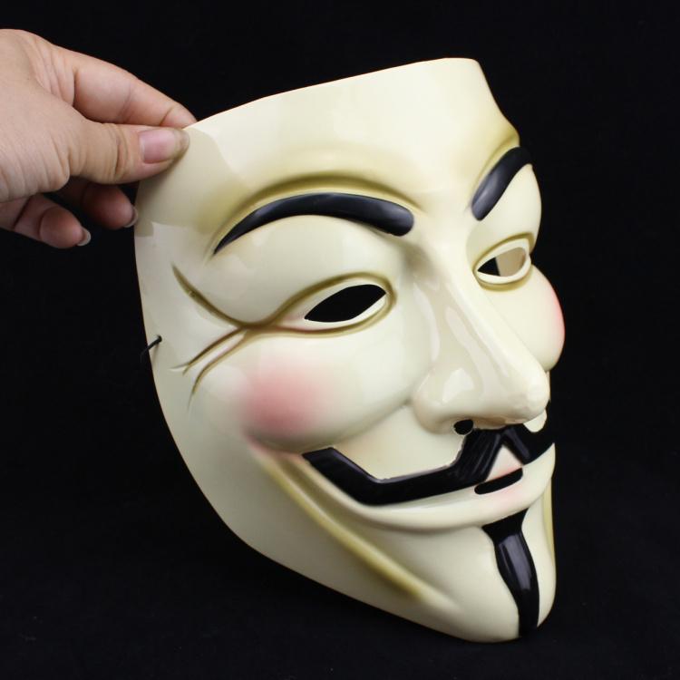 Hot Sales! Top Popular Hip-hop Dancing Performances Masks V Mask Vendetta Party mask, Free & Drop Shipping(China (Mainland))